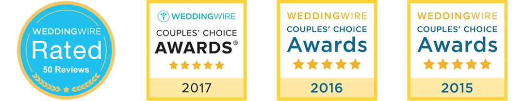 wedding wire couples choice award winner 2017